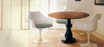 BOCA DO LOBO COLOMBOS PEDESTAL TABLE