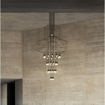 VIBIA WIREFLOW Chandelier 0374