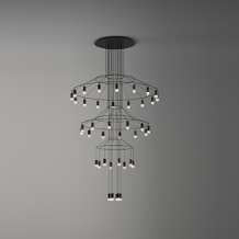 VIBIA WIREFLOW Chandelier 0378